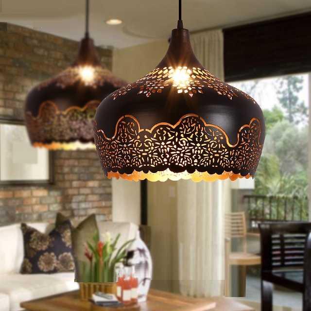 Moroccan style pendant light