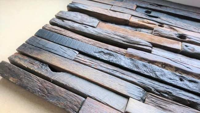 wooden wall tile
