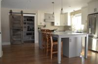 The Sliding Barn Door in Today's Kitchen/Pantry - Wood ...