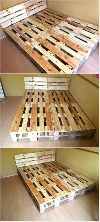 Cheap Home Furnishing With Wooden Pallets | Wood Pallet ...