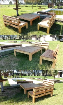 Awesome Pallet Wooden Furniture Plans Wood