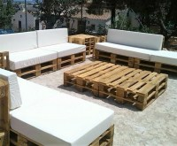 Stunning Pallet Patio Furniture Sets | Wood Pallet Furniture