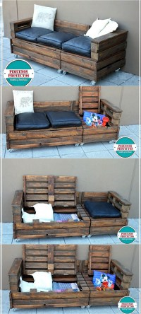 Recycled Wood Pallets Achievements | Wood Pallet Furniture