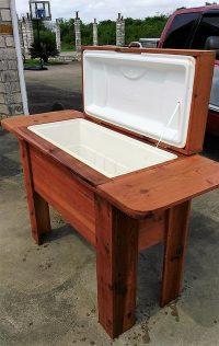 Repurposed Wooden Pallets Cooler Plan | Wood Pallet Furniture