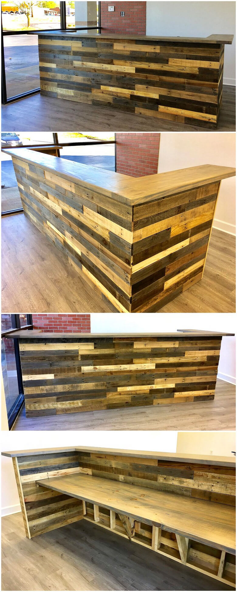 Really Functional Creations with Wood Pallets  Wood Pallet Furniture