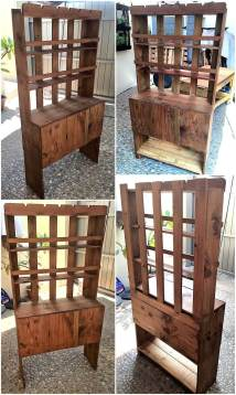 Recycled Wooden Pallets Hallway Tree Wood Pallet
