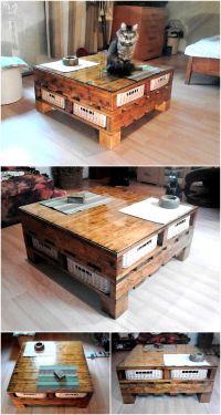 Repurposed Wooden Pallets Table Plan | Wood Pallet Furniture