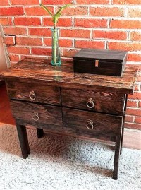 Repurposed Wooden Pallets Entryway Table | Wood Pallet ...