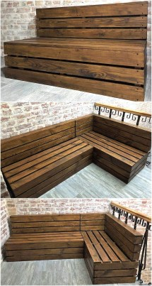 Cool Ideas Wood Pallets Upcycling Pallet
