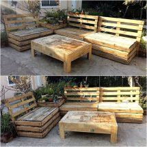 Repurposed Pallet Furniture Ideas