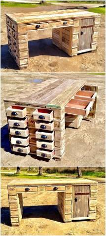 Stunning Ideas Wood Pallets Reusing Pallet