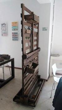 Repurposed Wood Pallets Made Room Divider Idea   Wood ...