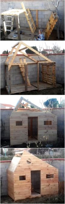 Clever Upcycling Ideas Used Shipping Pallets Wood
