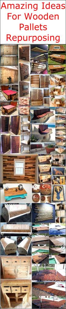 Amazing Ideas Wooden Pallets Repurposing Wood Pallet