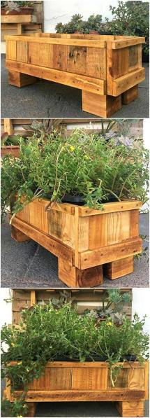 Pallet Recycling Ideas In Creative Manner