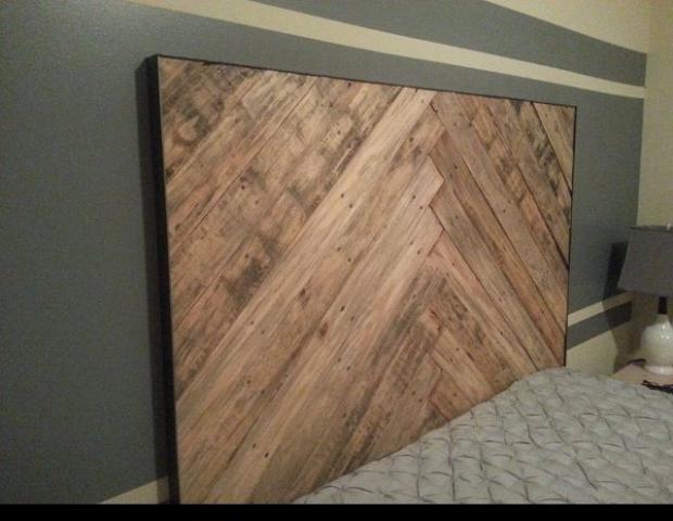 Creative Pallet Headboard Ideas Wood Pallet Ideas