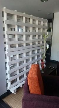 Pallet Room Divider Ideas  Wood Pallet Ideas