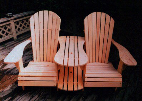Adirondack Settee Kit Plan  Downloadable