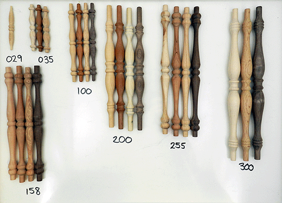 Wood Furniture Spindles  Buy Oak Walnut and Maple