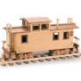 The Caboose Approx 14 Inches Woodworking Plan