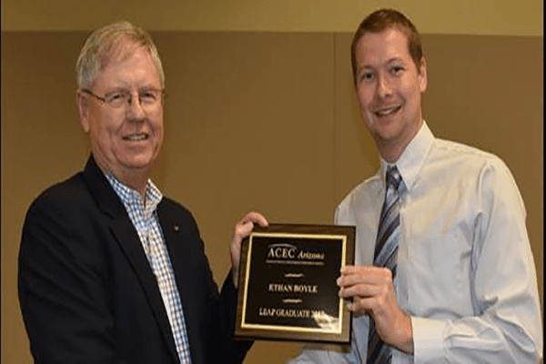 Ethan Boyle Graduates from ACEC LEAP