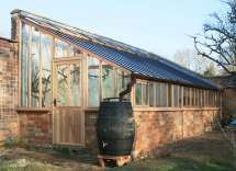 Building a Lean to Greenhouse