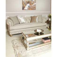 Glam Sofa Sofasworld Corner Anna Modern Cream 3 Seater With Accent Cushions