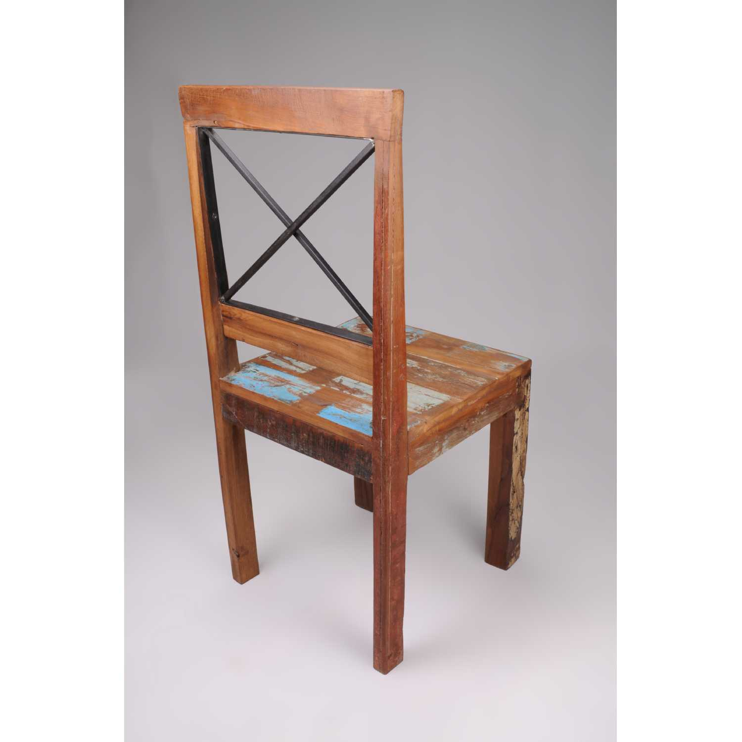 distressed leather dining chairs uk how to make chair covers for new england bohemian reclaimed