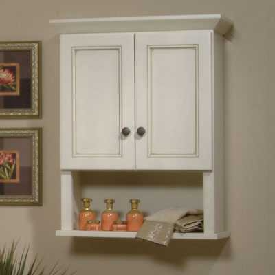 toilet topper and wall cabinet