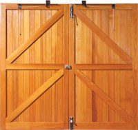 The Making Of A Woodrite Wooden Garage Door