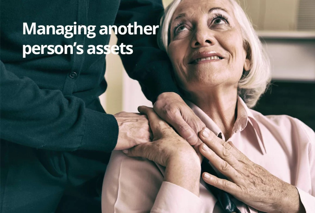 Managing another person's assets financial planning blog articles