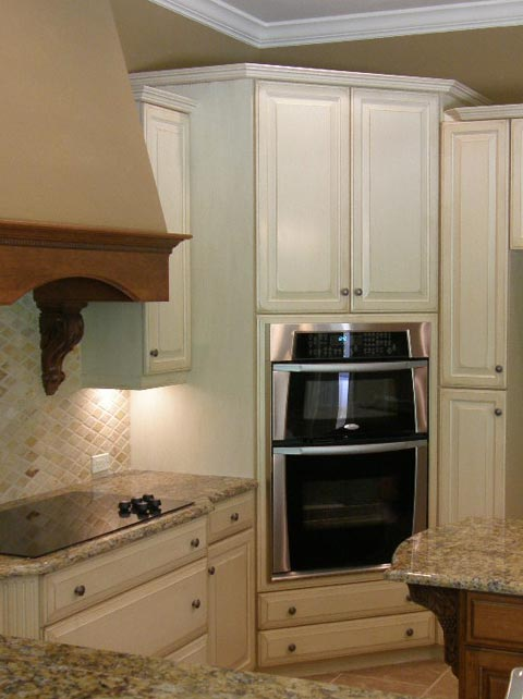 Raised Oven Tower  Oven Options  Woodscapes Interiors