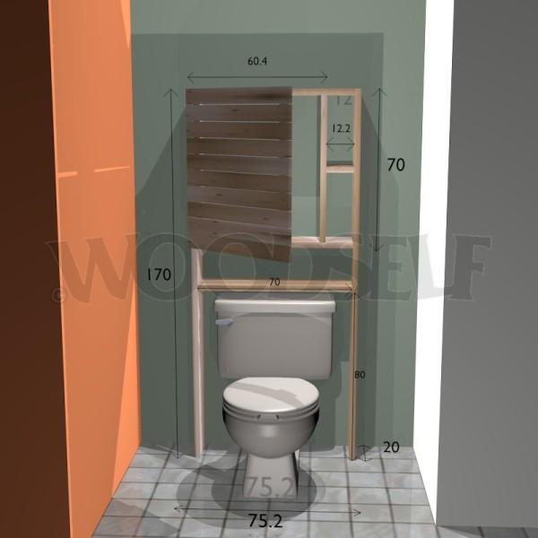 Armoire Sur Toilettes Woodself Le Site Des Plans De