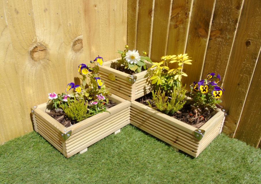 Corner Garden Planters