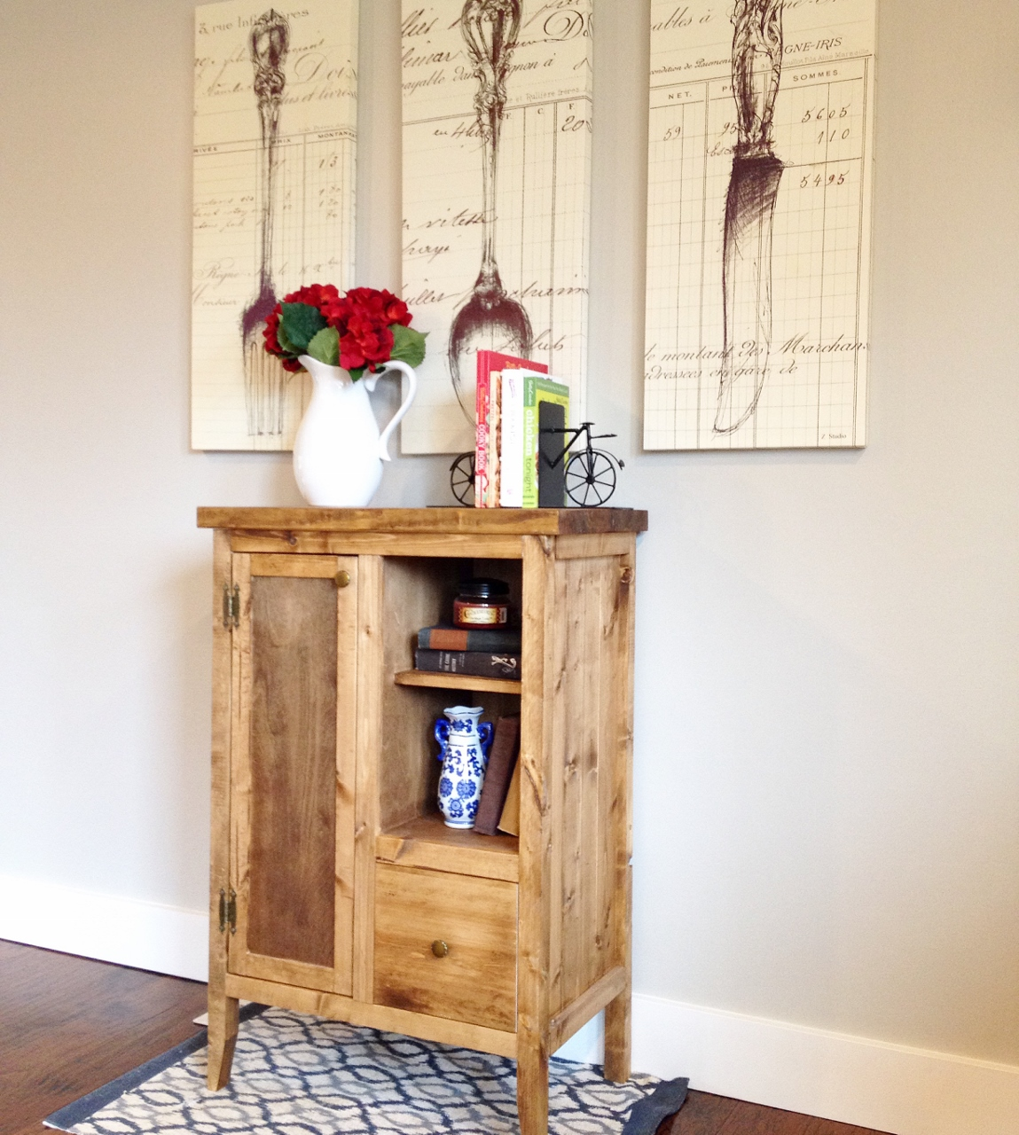 """DIY Coffee Cabinet--The """"Whatchamacallit"""" Project"""