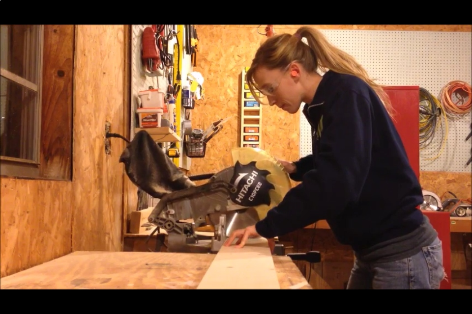 me with miter saw
