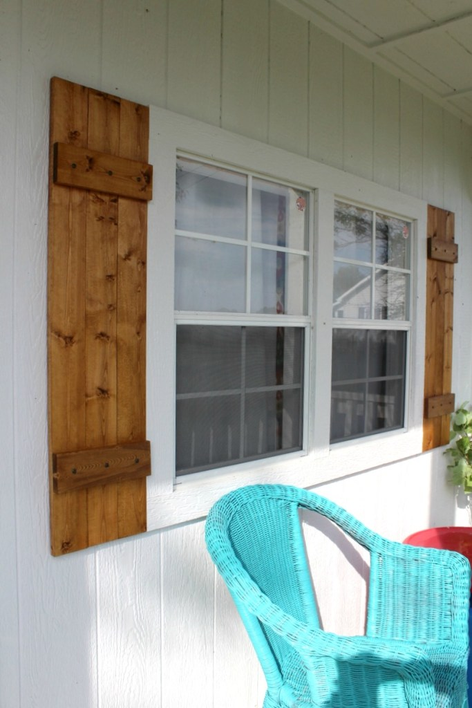 shutters at angle