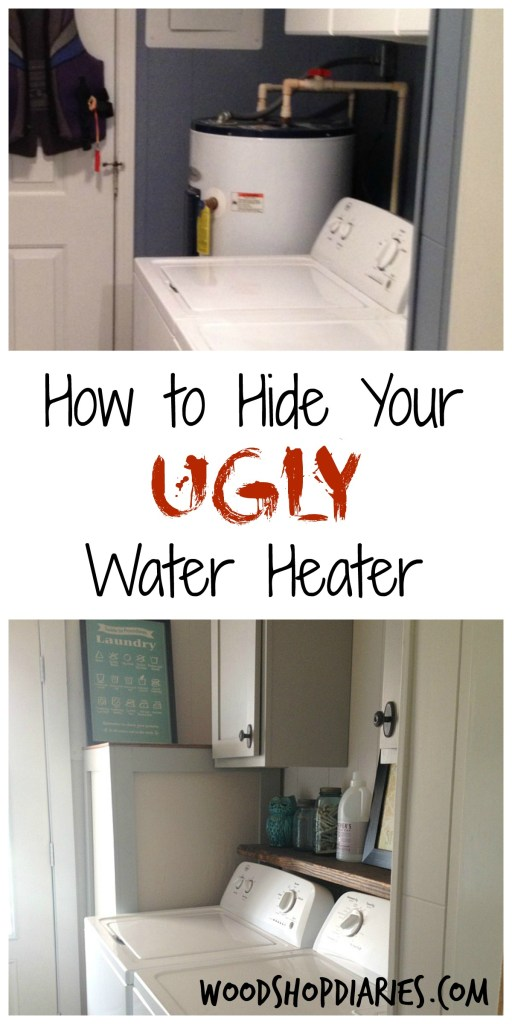 How To Hide Your Ugly Water Heater