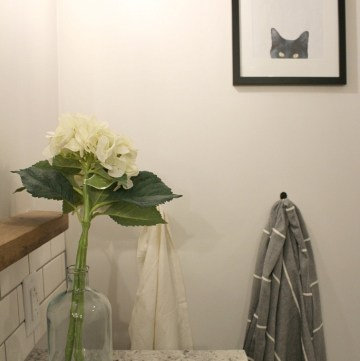 DIY Wall Art Using a Picture of Your Pet