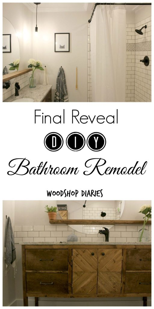 Gorgeous Master Bathroom Remodel Reveal