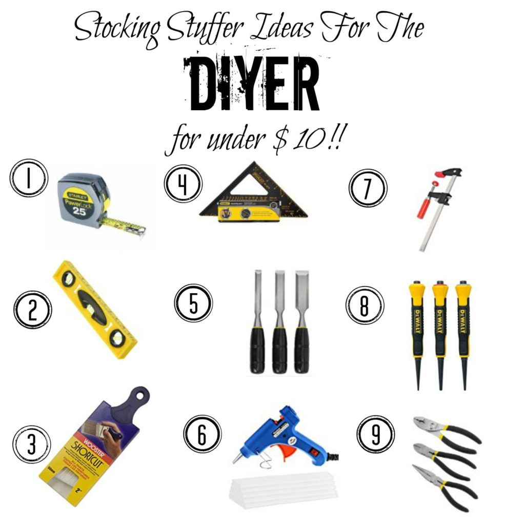 Stocking Stuffer Ideas for the DIYer--All Under $10!
