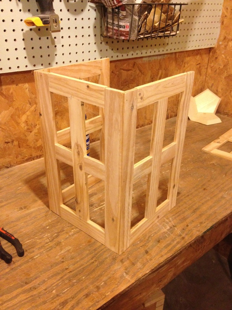 How to build a GORGEOUS wood lantern!