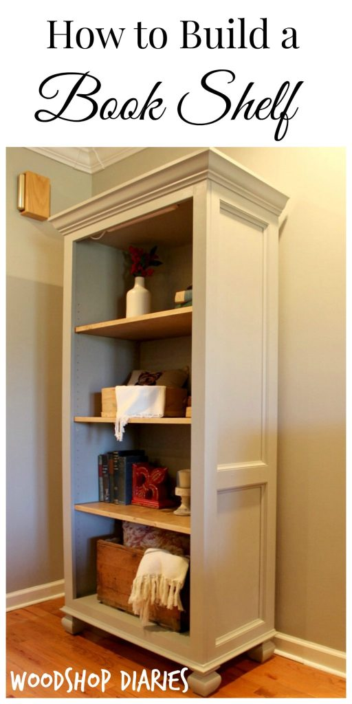how to build a bookshelf - Cost To Install Built In Bookshelves