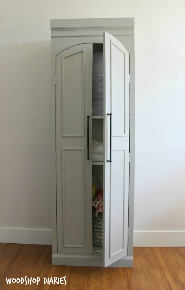 Ballard Designs Knock Off Pantry Cabinet
