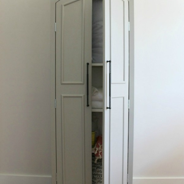 DIY Ballard Designs Knock Off Pantry Cabinet