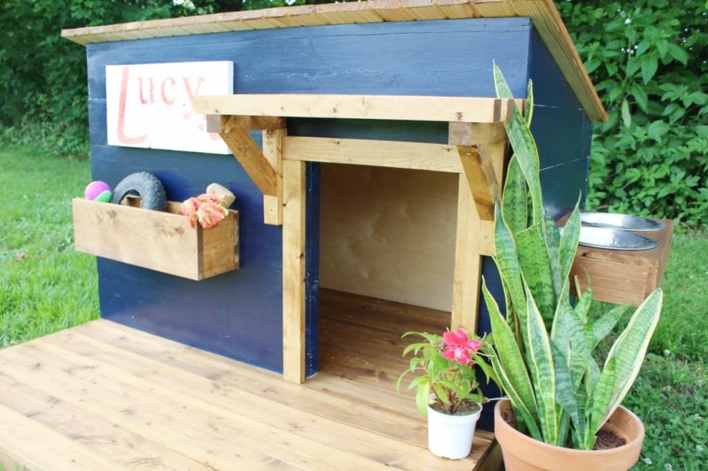 How to Build a Modern DIY Dog House
