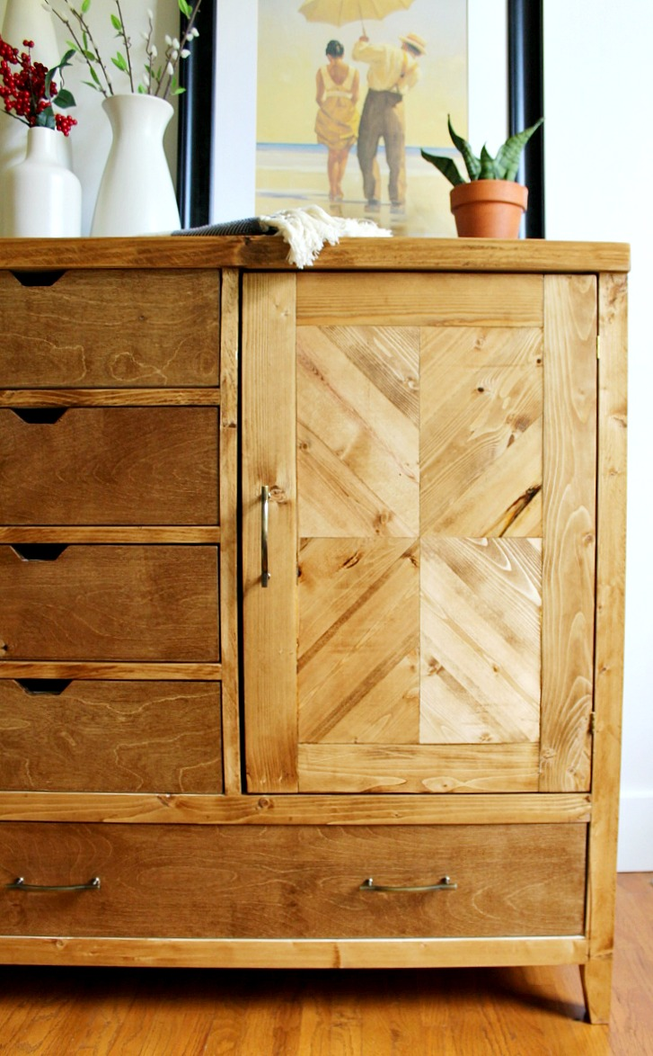 Superieur How To Build A Modern DIY Dresser Armoire