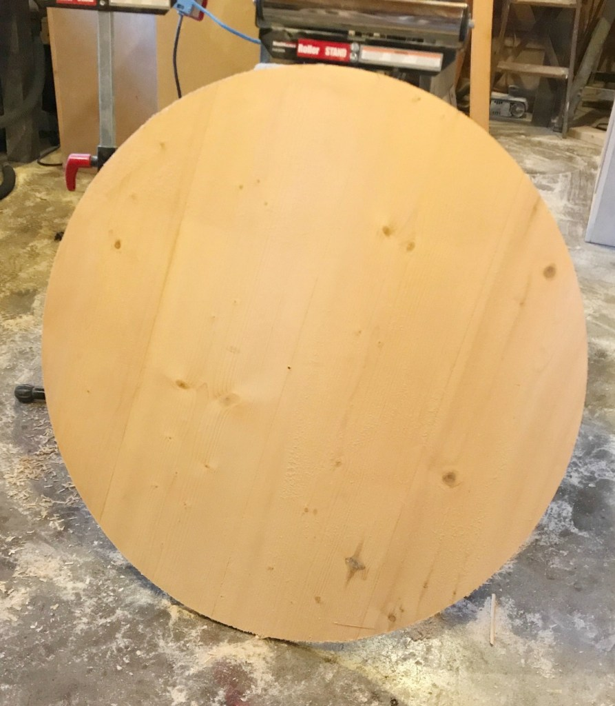 DIY Rustic Wooden wall clock unfinished