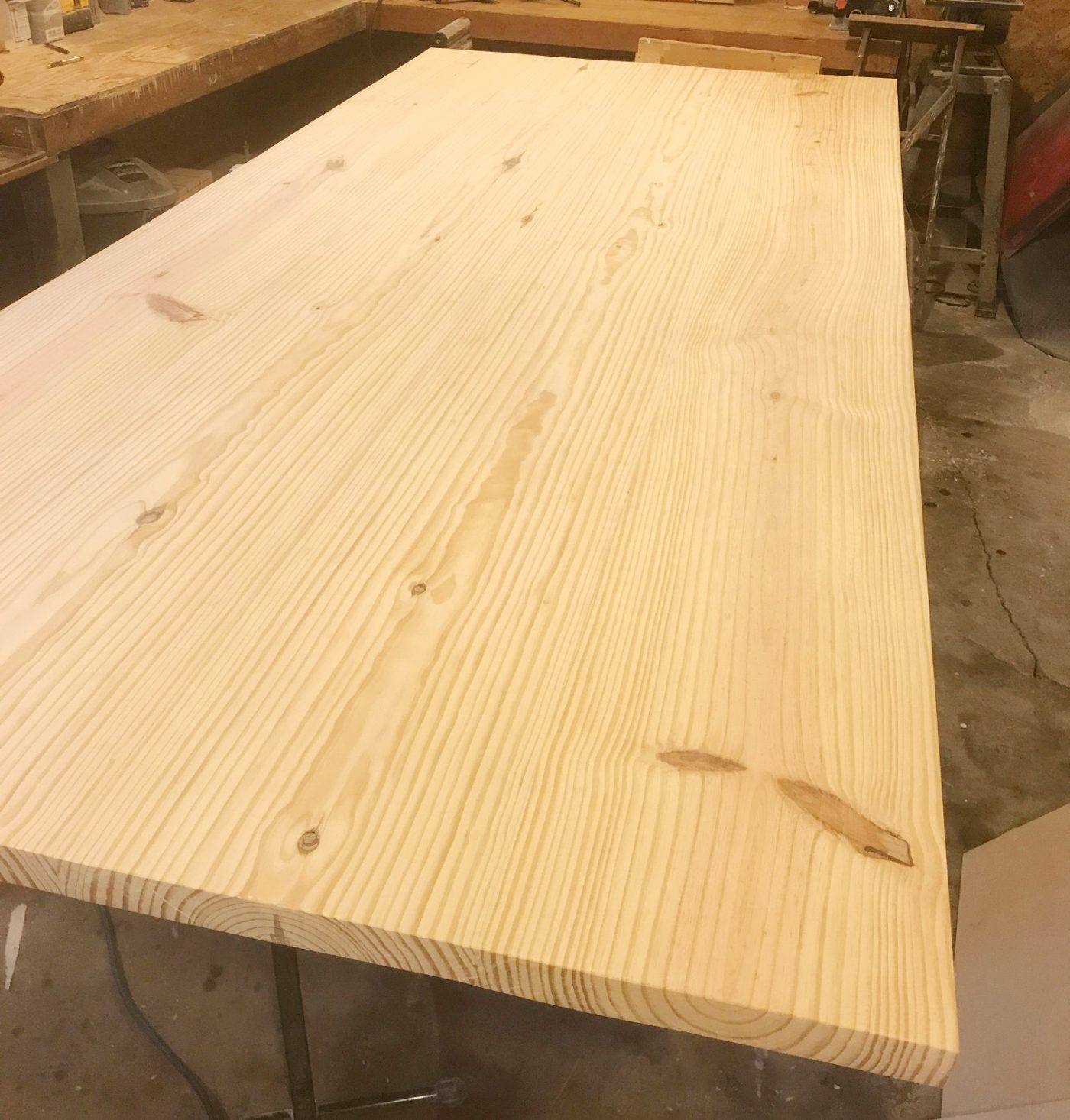 I Always Glue Up My Table Tops, But If You Wish, You Could Also Attach Then  Together Using Pocket Holes And Screws.
