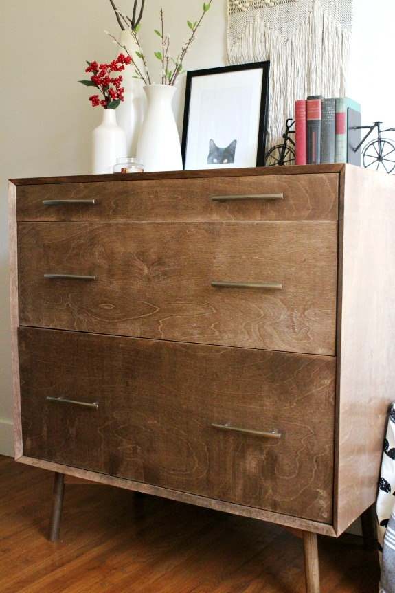 How To Make A Diy Mid Century Dresser Base